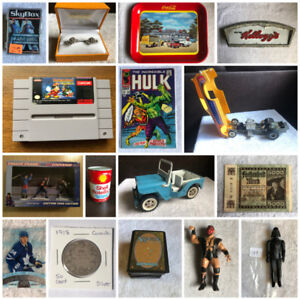 NEW ONLINE COLLECTIBLES AUCTION
