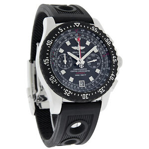 Breitling Skyracer Raven Mens Swiss Chronograph Automatic Watch A2736423/B823