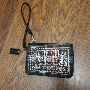 Coach Poppy Wristlet (Real, Lightly Used)