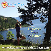 Radiant Yoga with Colleen  2017 Schedule