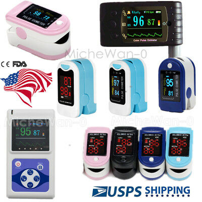 Fda Finger Tip Pulse Oximeter Spo2 Blood Oxygen O2 Monitor Usa Warehouse
