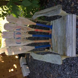 Chaise en bois pour exterieur