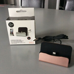 iPhone charge + sync docking station, new in box