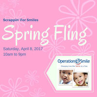 """""""Scrappin' For Smiles"""" Scrapbooking Fundraising Crop"""