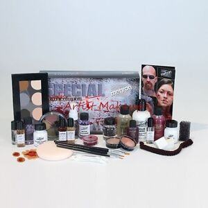 MEHRON PROFESSIONAL SPECIAL EFFECTS FX ALL PRO MAKEUP KIT COMPLETE KIT