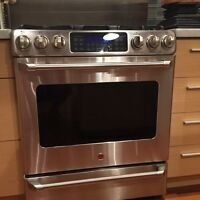 Four gaz convection GE cafe stainless