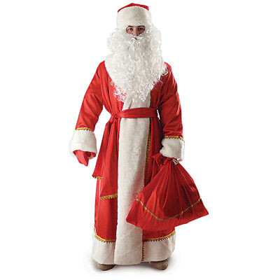 Father Frost Costume Ded Moroz Russian Santa Complete Outfit XL