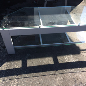 TV glass stand for a 50 inches TV
