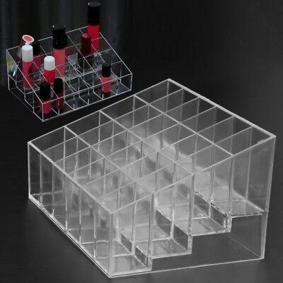 Acrylic Box Makeup Organizer Transparent Jewelry Storage Case Holder Container