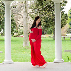 Beautiful Maternity shoot gown