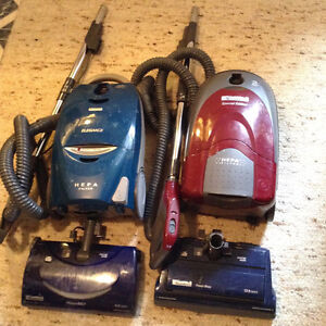 2 KENMORE VACUUMS - Both in working order - $75.00 OBO for both