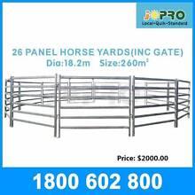 Horse Round Yard Panel 26pcs 18.2m diameter Springvale Greater Dandenong Preview