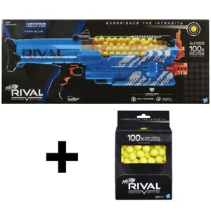 NEW Nerf Rival Nemesis +100 extra Rival Balls Red/Blue 200 Balls