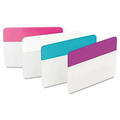 Post-it Tabs File Tabs 2 X 1 12 Assorted Pastel 24pack 051141340135