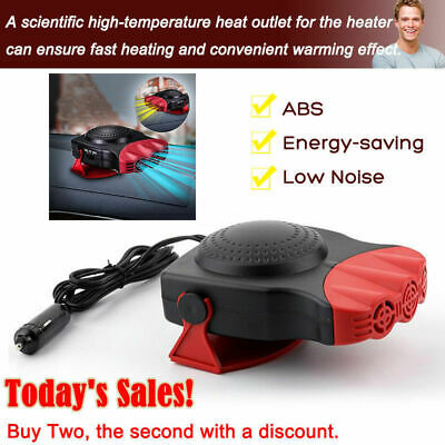 Portable DC 12V 150W Electric Car Heater Heating Fan Defogger Defroster Demister