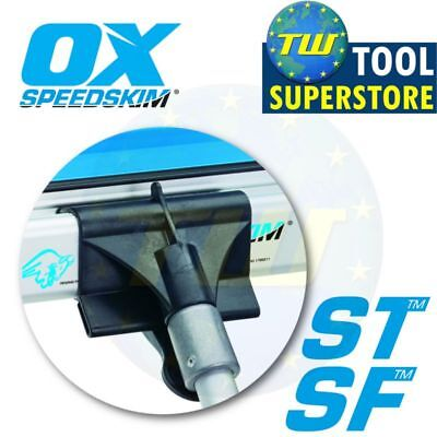 OX Tools Speedskim Universal Pole Attachment Fits ST/SF Plastering Rules P531501