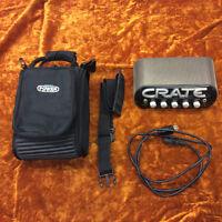 CRATE POWER BLOCK - MONO/STEREO AMP