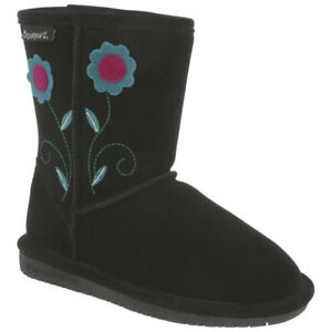 Bearpaw Kids' Buttercup Embroidered Boot Size 4, New