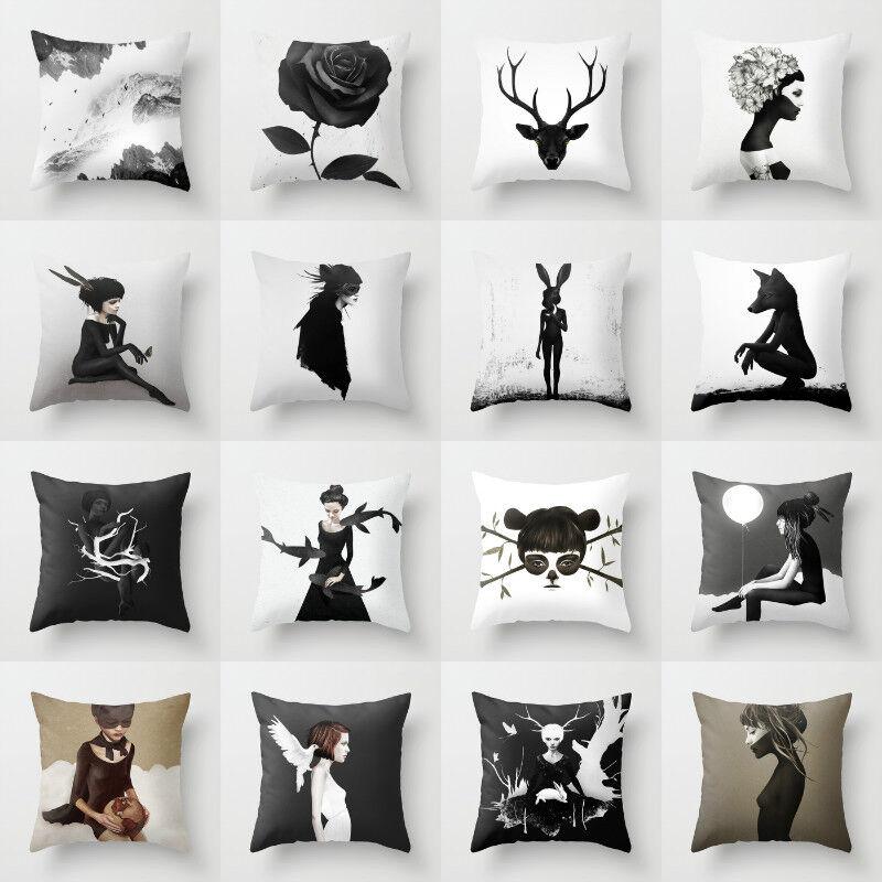 Artificial Almofada pillow case for sofa Official throw cush