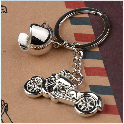 Creative Alloy Metal Keyfob Gift Car Keyring Harley Keychain Key Chain Rings