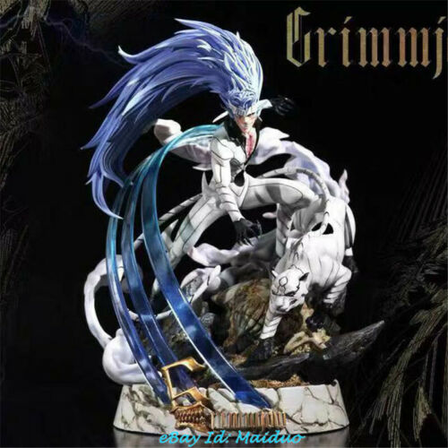 BLEACH Grimmjow Jeagerjaques Statue Resin Model GK Black Pearl Studio New