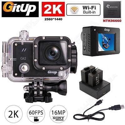Видеокамеры Gitup Git2 Pro WiFi 2K