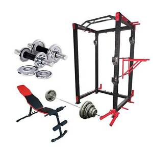 PRO-X5 MONSTER POWER RACK PACKAGE DEAL SQUAT RACK TOP GRADE Wangara Wanneroo Area Preview