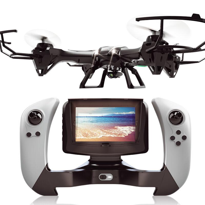 UDI U818S RC Drone 4CH 6-Axis RTF RC Quadcopter Heli Radio FPV W/ HD Camera