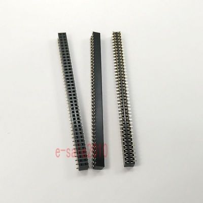 5pcs 2mm 2.0mm Pitch 2x40 Pin 80 Pin Female Double Row Smt Smd Pin Header Strip
