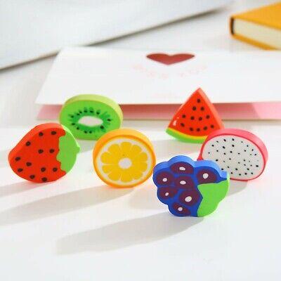 A fruit shaped eraser