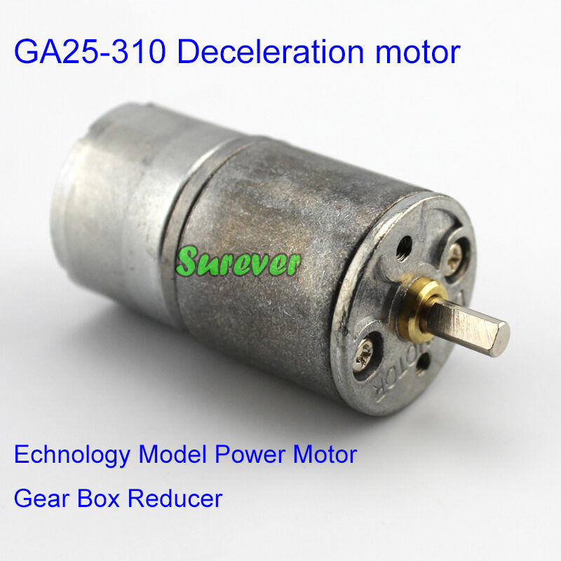 DC 3V 5V 6V 500RPM Mini Worm Gear Motor Micro Gearbox Gear Reduction Gearmotor