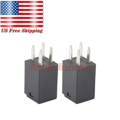 2 Pcs For Song Chuan 303-1ah-c-r1-u01-12vdc Ultra Micro Iso Relay Spno 20a 12vdc