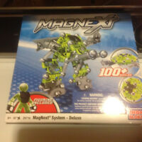 New, MEGA BLOKS, 67 pieces MAGNEXT SYSTEM..DELUXE..$15.00