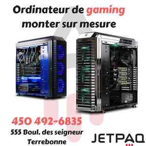 Ordinateur de gamer sur mesure | Gaming computer on demand