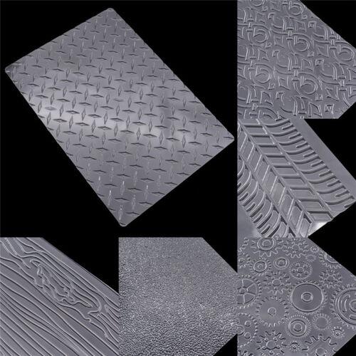 Kuchenschablone Reifen Zahnrad Muster Set Fondant Textur Backzubehör Molds DIY