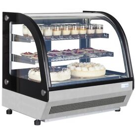 INTERLEVIN LCT750C REFRIGERATED COUNTER TOP DISPLAY