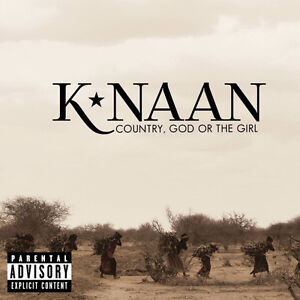 K*Naan-Country,God or The Girl cd-Mint condition
