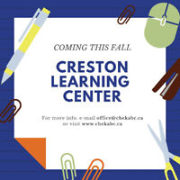 Creston Learning Center Info. Session