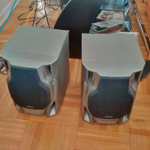 Set of Two (2) Audiovox Stereo Speakers