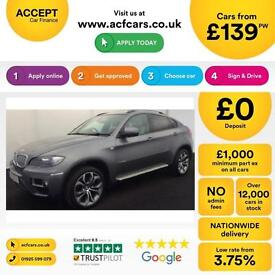 BMW X6 FROM £139 PER WEEK!