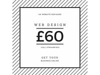 Reading Berkshire web design, development and SEO from £60 - UK website designer & developer