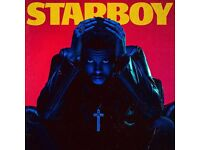 The weeknd starboy tour x 2 Front standing manchester Sunday 5th march 07393471927
