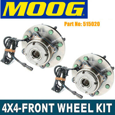 Moog Replacement New Front Wheel Hub Bearings Pair For Ford F-250 F-350