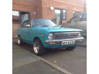datsun 120y 1171cc turquoise 1978 s reg 4995 no offers moted jan 018