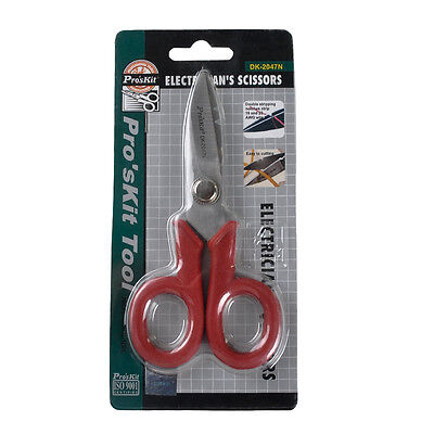 Proskit Multi-function Electrical Cable Stripping Knife Scissors Dk-2047n