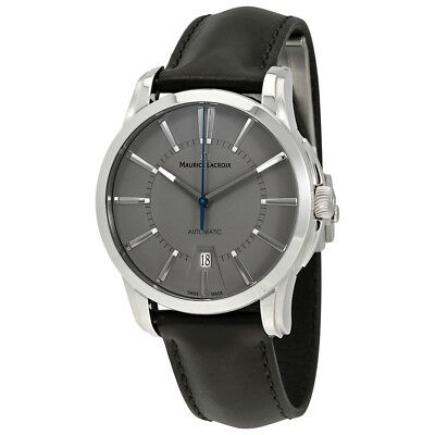 Maurice Lacroix Pontos Date Silver Dial Mens Watch PT6148-SS001-230