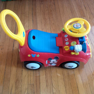 Mickey Mouse Ride-on Car Kitchener / Waterloo Kitchener Area image 1
