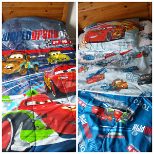 Disney Cars bedding and accessories