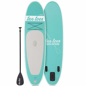 New Ten Toes Weekender 10' Inflatable Stand Up Paddleboard