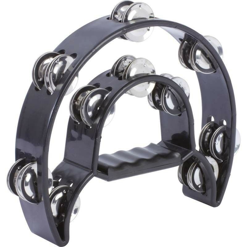 Maxam™ Double Cutaway Tambourine (Pandereta)